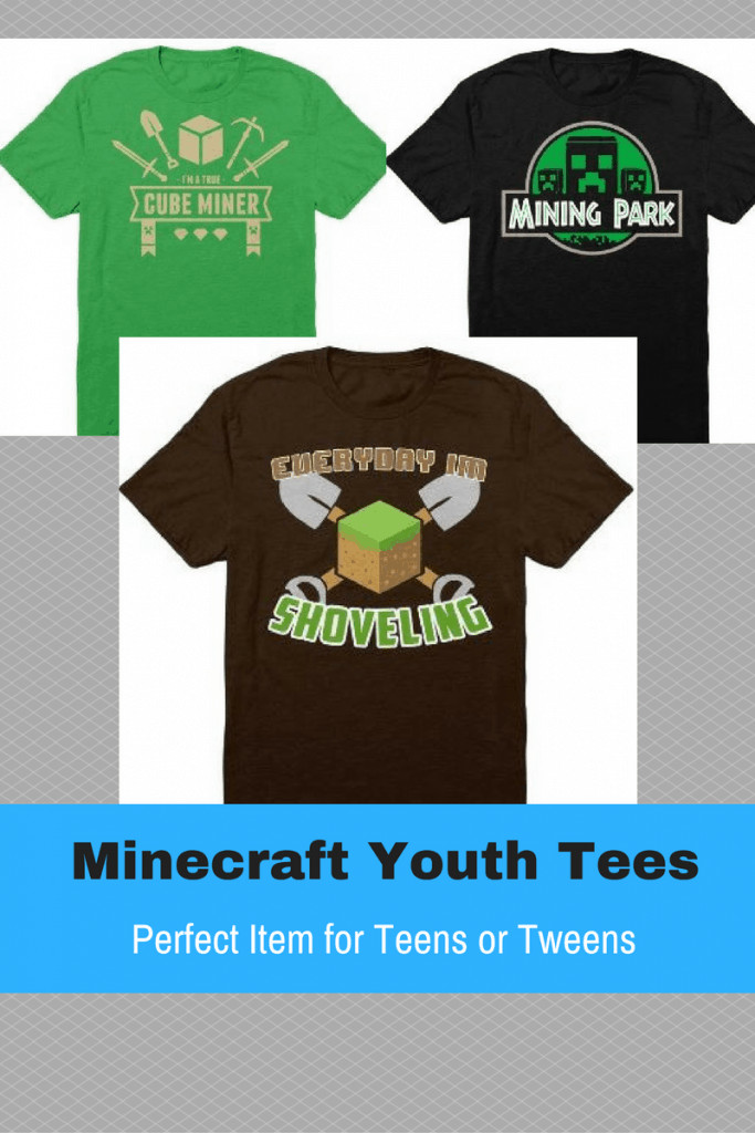 My two grandsons are NUTS about Minecraft. They would love a gift like this.