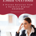 How to Conquer your Email Overload