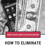 New Year's Motivation – Manage Your Money
