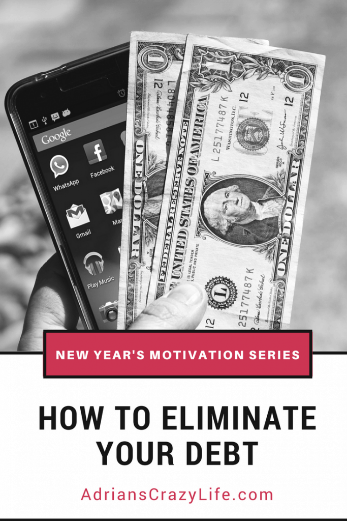 Part of my New Year's Eve series. This one has strategies to manage your money and eliminate your debt issues.