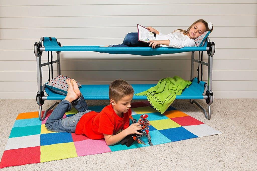 These kids bunkbed cots are brilliant.