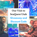 Giveaway and Discount Code for SeaQuest Aquarium Utah