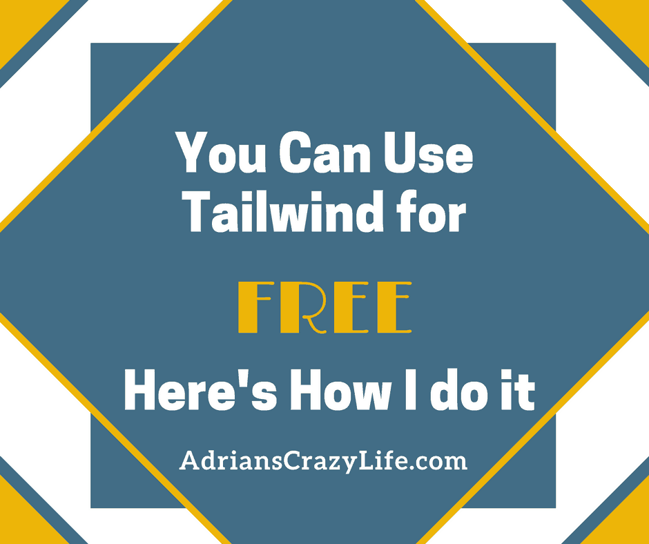I've gotten nearly two years of Tailwind service for FREE.  I'll show you how you can do it too.