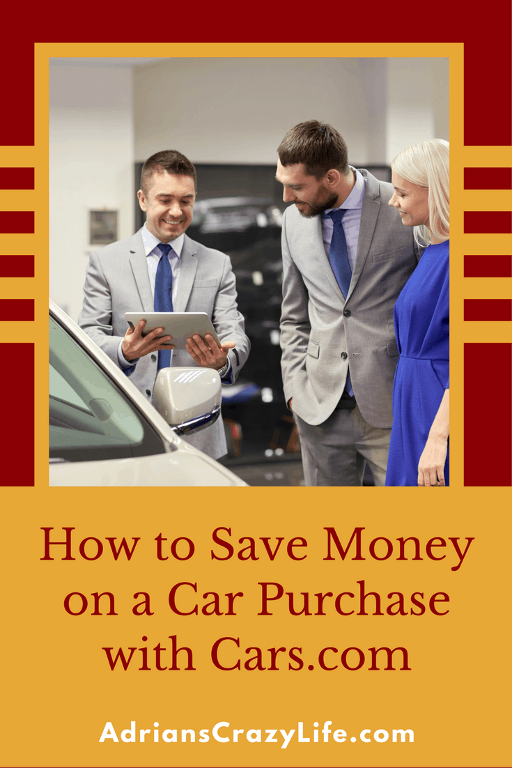 I can show you how to save lots of money on a car purchase with Cars.com.  It's a great research tool and could make a big difference on pricel. #Spon #Ad #carcom