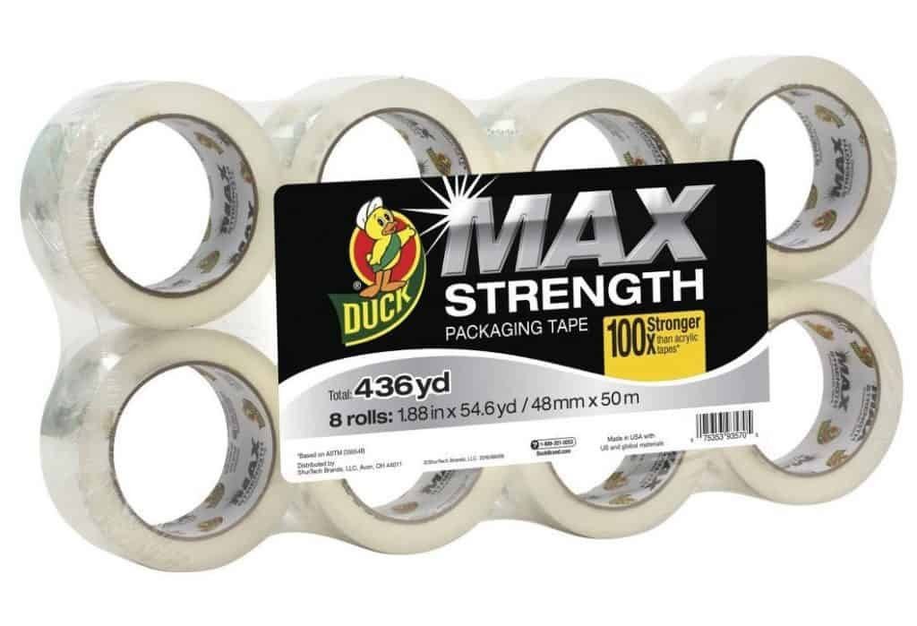 This year I'm buying mu Duck Max Strength Packaging Tape at Sam's Club. #SamsClub #Ad