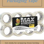 Getting Ready for the Holidays with Duck Max Strength Packaging Tape