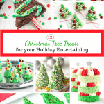 'Tis the season for holiday parties. Here are a dozen fun ideas for some Christmas Tree inspired recipes to enjoy.