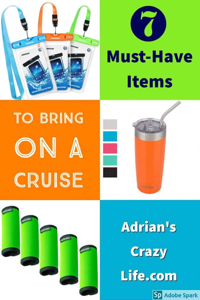 I have 7 items you may not have thought of to bring on your next cruise.