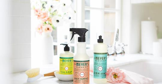 Make life easier with a Mrs. Meyers Gift Set
