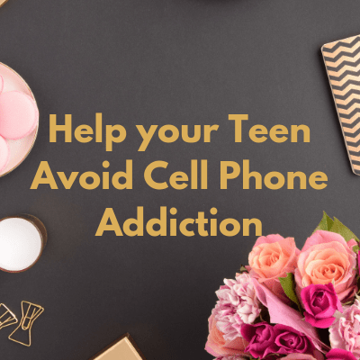 Cell phone addiction is a real thing and I've got some great ideas for how to protect your teen from it.
