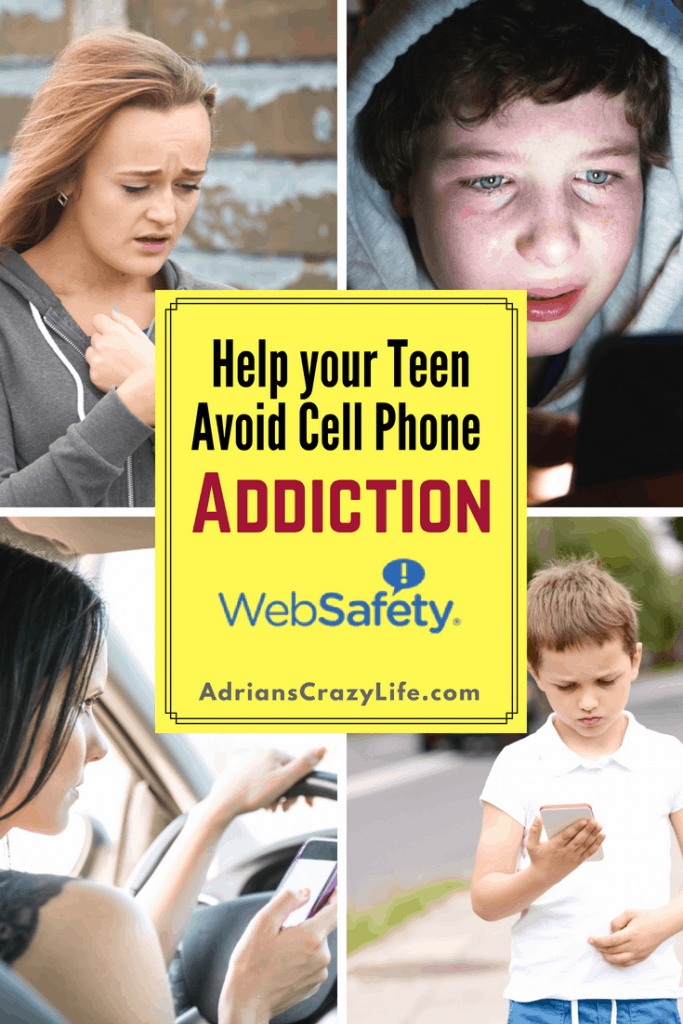Cell phone addiction is a real thing. Just drive around and watch people use their cell phones while driving ON THE FREEWAY.If the adults can't manage it, how could a kid possibly use it responsibly? You've got to HELP them learn how to manage their devices. I've got an app to help. via @adrianscrazylif #socialmedia #teensandtexting #donttextanddrive #websafetyapp #websafety #kidsanddevices #cellphoneuse #kidsandphones #monitoryourkids