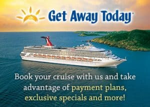 Get Away Today has some terrific cruise specials for your next cruise.