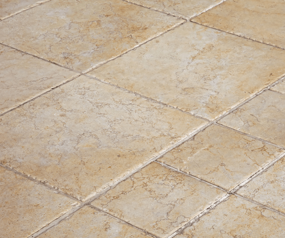 image of a tile floor
