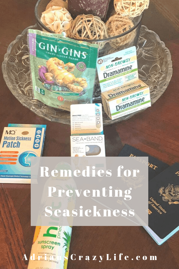 Various remedies for seasickness