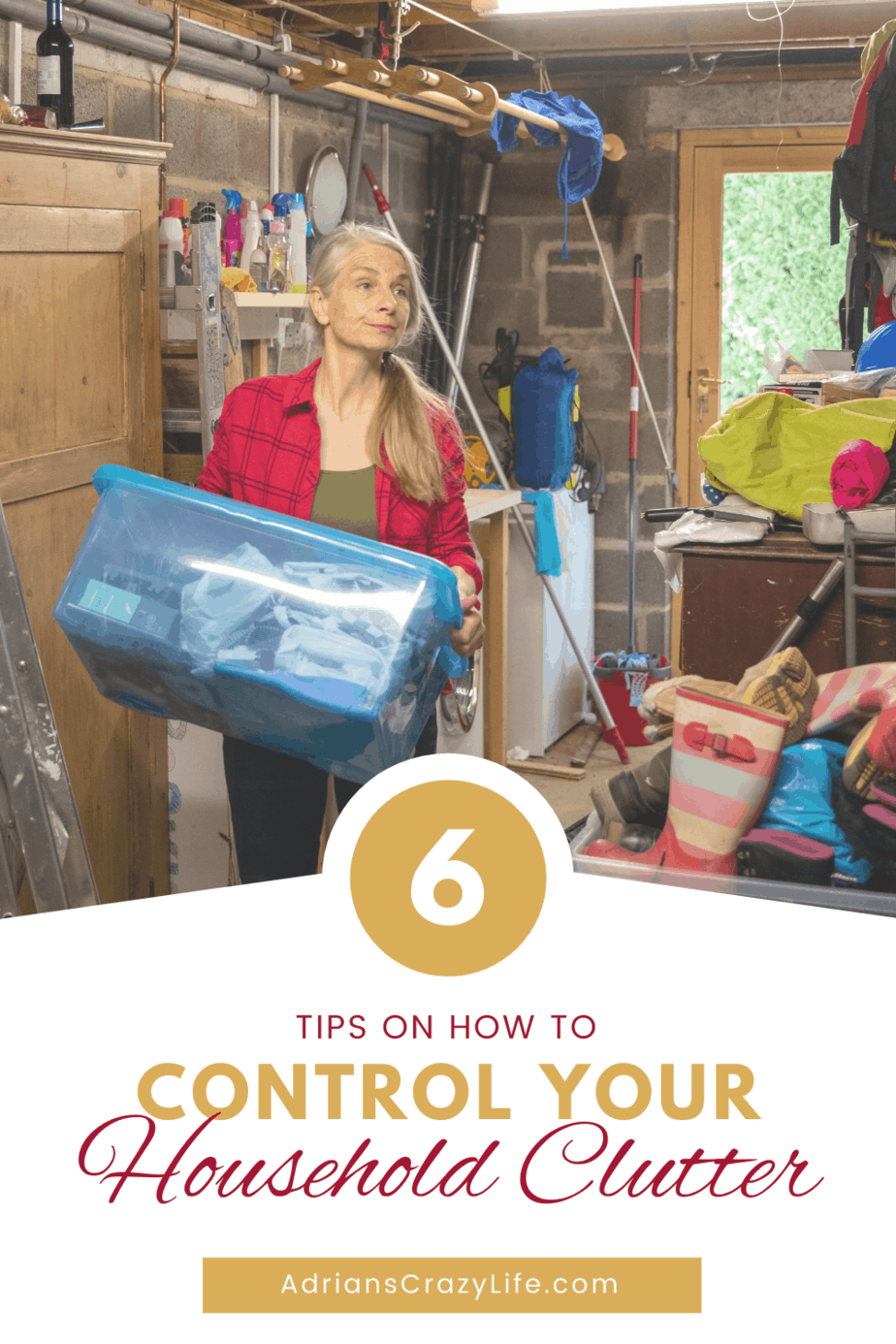6 Tips to Control Household Clutter