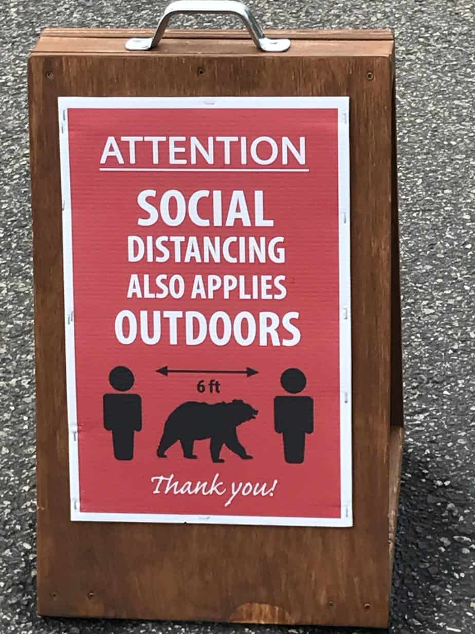 Socially Distant Travel
