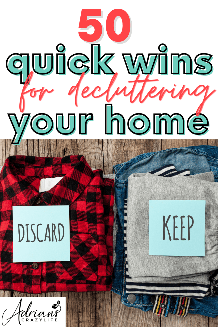 Quick Wins for Decluttering Your Home